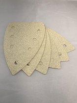 Suilen Schuurpapier Delta 100 stuks 100 X 150 Klittenband Korrel 80