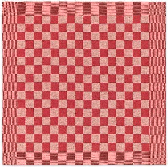 DDDDD - Barbeque Theedoek 65 x 65 cm per 2 stuks Red