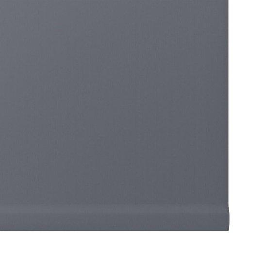 Decosol rolgordijn mini verduisterend - 37x160 cm - antraciet