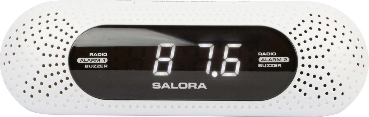 Salora CR626USB - Wekkerradio - AM - FM - USB charge