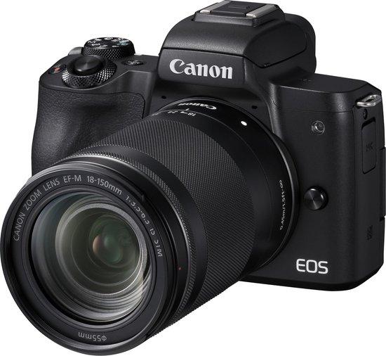 Canon EOS M50 + 18-150mm - Zwart