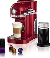 Nespresso KitchenAid & Aeroccino3 5KES0504EER/3 Keizerrood Aanrecht Koffiepadmachine 1,3 l