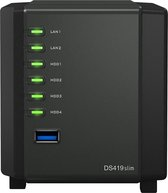 Synology 4 Bay DS419SLIM