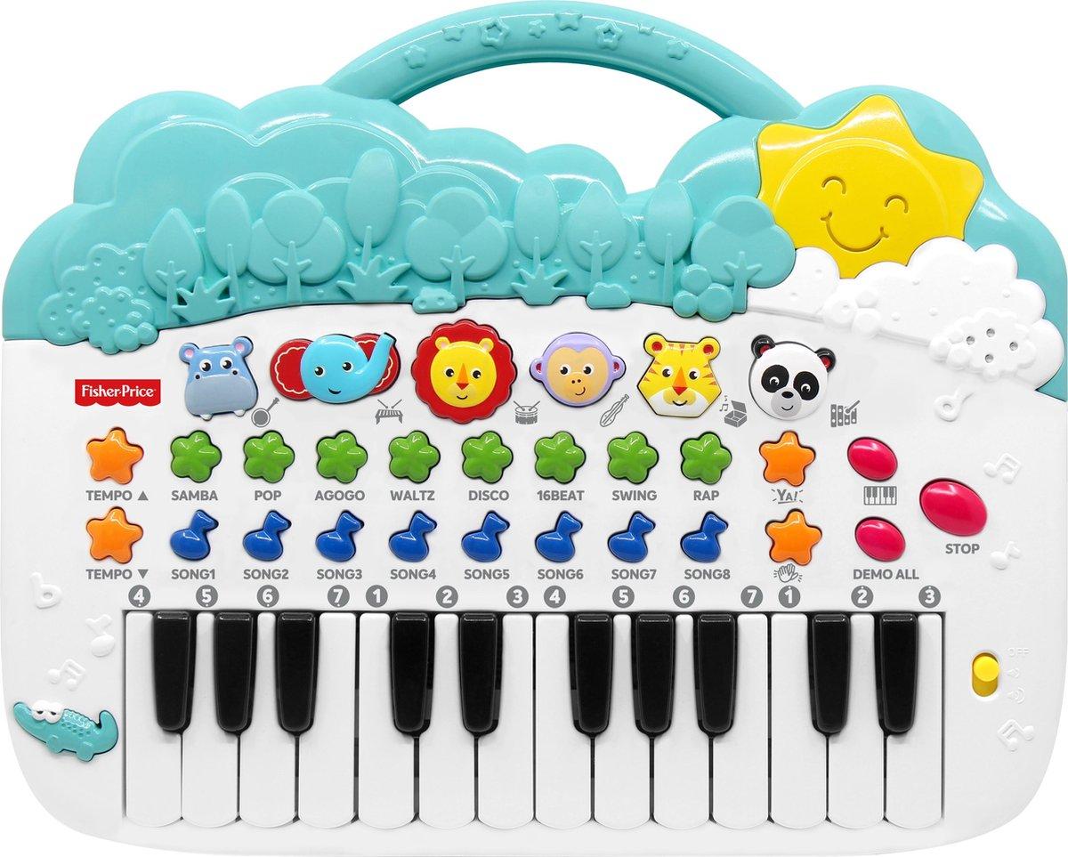 Fisher Price Dierenpiano - Speelgoed - Spelend Leren - Muziekinstrument - Kinderliedjes