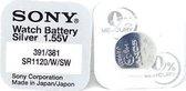 Sony batterij 381