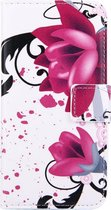 Mobigear Wallet Book Case Lotus iPhone 7 / 8
