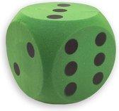 Foam dobbelsteen groen