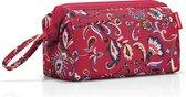 Reisenthel Travelcosmetic Toilettas - Polyester - 4L  - Paisley Ruby Rood; Mulri Kleur