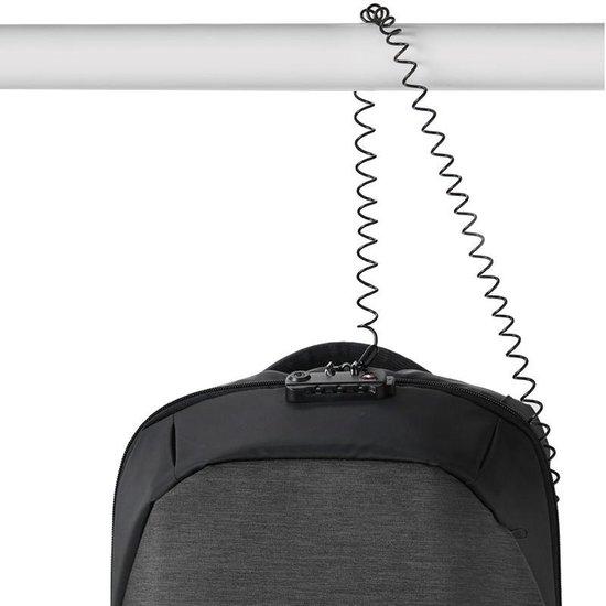 KORIN Design ClickPack Anti diefstal Rugzak met uniek TSA slot Rugtas - Korin-Design