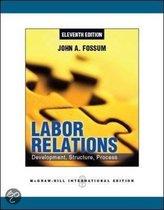 Boek cover Labor Relations van John Fossum