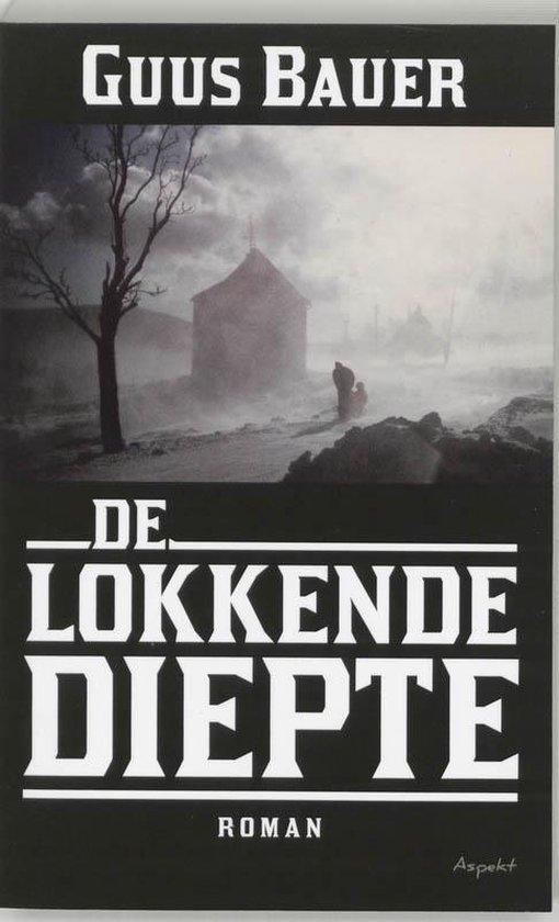 Cover van het boek 'De lokkende diepte' van Guus Bauer