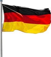 TecTake - vlaggenmast, incl duitse vlag, max 620 cm 402125