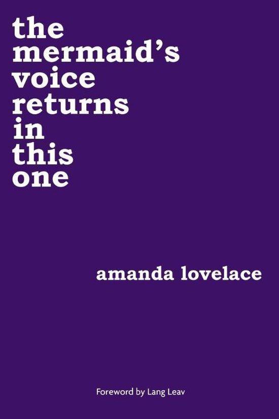 Boek cover the mermaids voice returns in this one van Amanda Lovelace (Paperback)