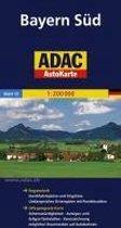 ADAC AutoKarte Deutschland 13. Bayern Süd 1 : 200 000