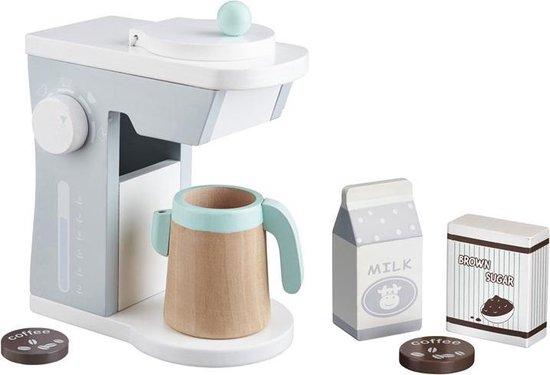 Stijlvolle houten koffiezetapparaat Kids Concept