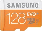 Samsung Evo 128 GB Micro SD class 10 met adapter