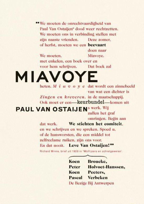 Miavoye - Koen Peeters |