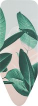 Brabantia Strijkplankhoes C - 124 x 45 cm - Tropical Leaves - complete set