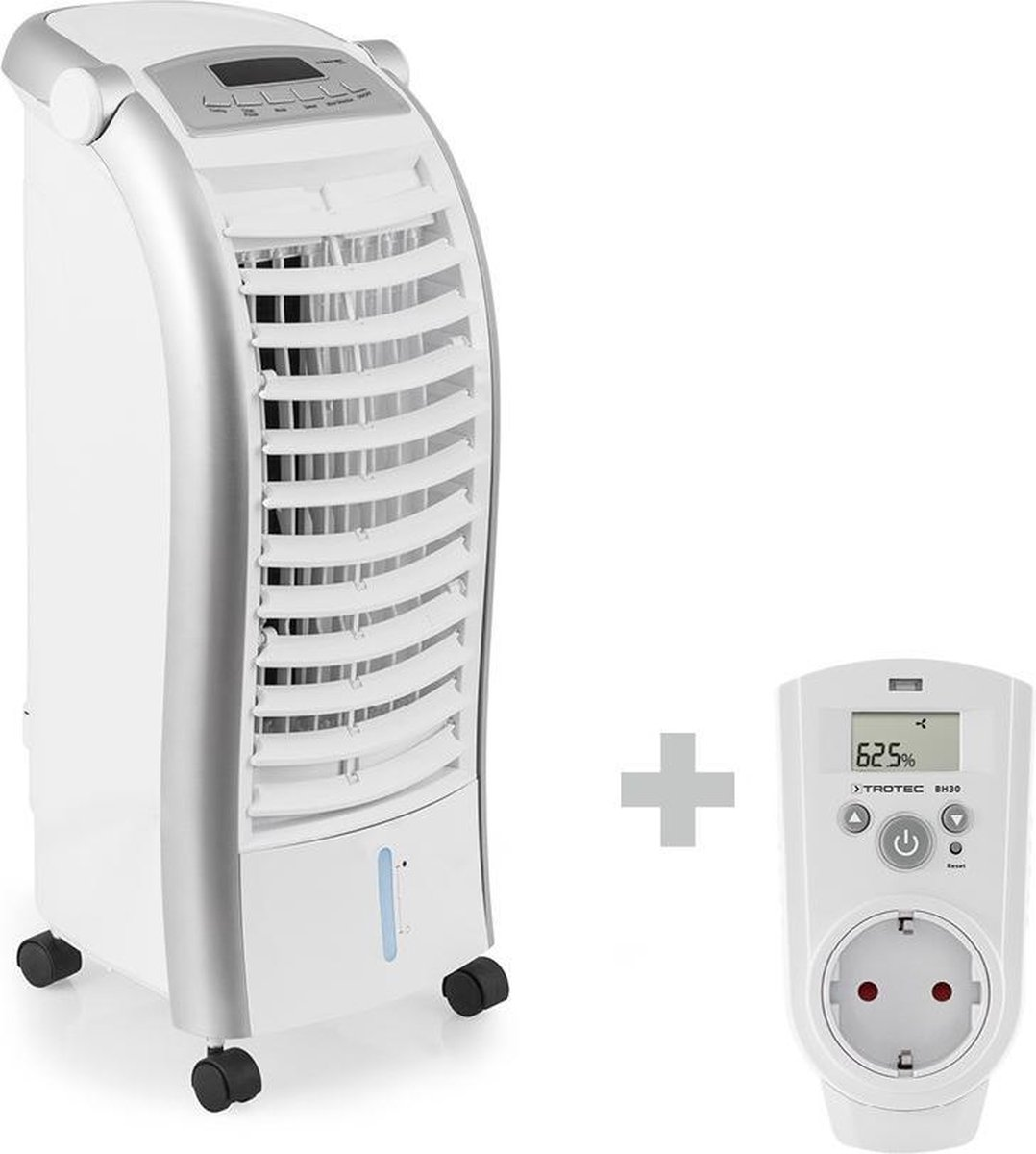 TROTEC PAE 25 Luchtkoelerventilator + Stopcontact hygrostaat BH30