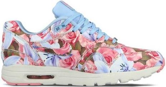 nike air max blauw bloemen