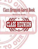 Class Reunion Guest Book