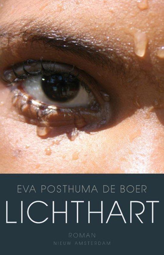 Boek cover Lichthart van Eva Posthuma de Boer