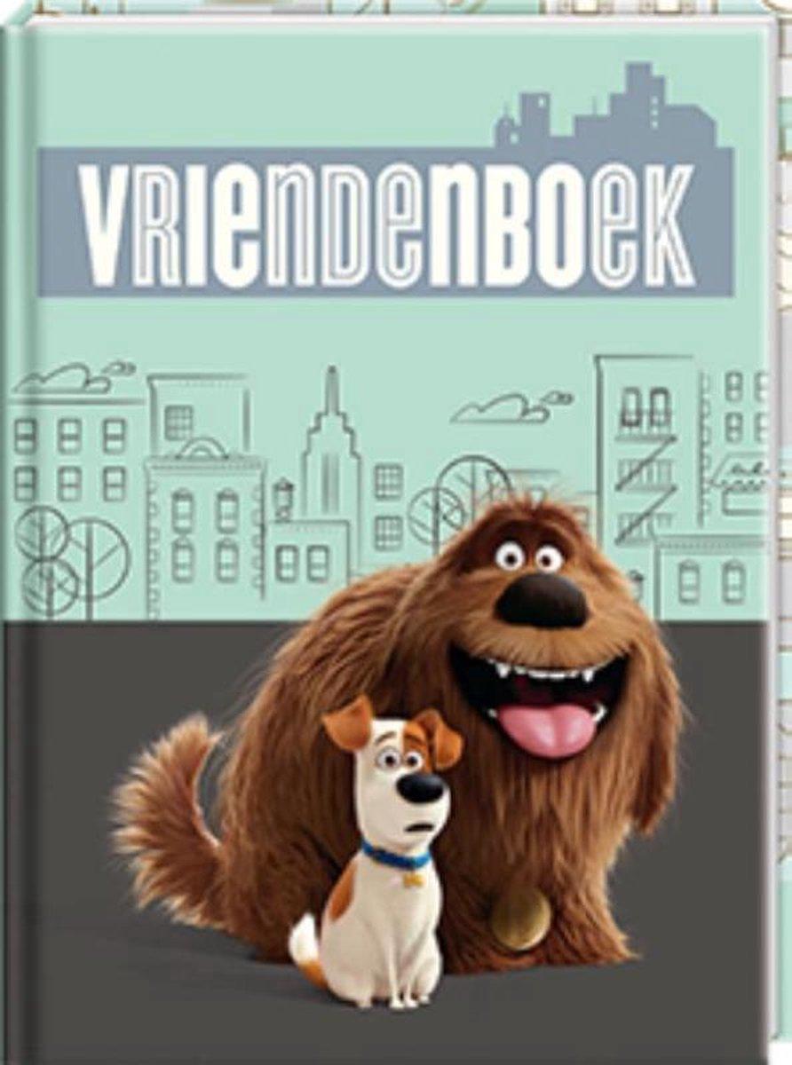Secret Life Of Pets Vriendenboek - 14 x 19 cm - Interstat