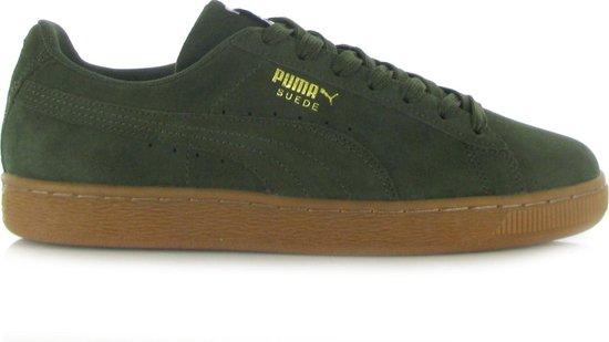 bol.com | Puma Suede Classic Donker Groene Sneakers