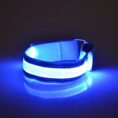 Fiets / Hardloop Verlichting Sport Armband - Reflecterende Strap Met LED Lampjes