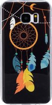 For Samsung Galaxy S7 Edge / G935 Noctilucent Wind Chimes patroon IMD Workmanship Soft TPU beschermings hoesje