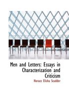 Men and Letters