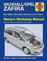 Vauxhall/Opel Zafira Petrol & Diesel (Mar '09-'14) 09 To 64