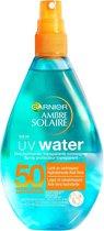 Bol.com-Garnier Ambre Solaire Uv Water Zonnebrandspray - SPF 50 - 150 ml-aanbieding