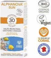 ALPHANOVA SUN BIO SPF 30 allergische gevoelige huid - waterproof 30 ml