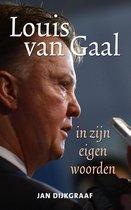 Boek cover Louis van Gaal in zijn eigen woorden van Jan Dijkgraaf (Paperback)