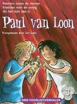 Paul Van Loon 2 - 3 luisterboeken Stuurloos tussen de sterren,Vluchten voor de oorlog,Als het licht aan is
