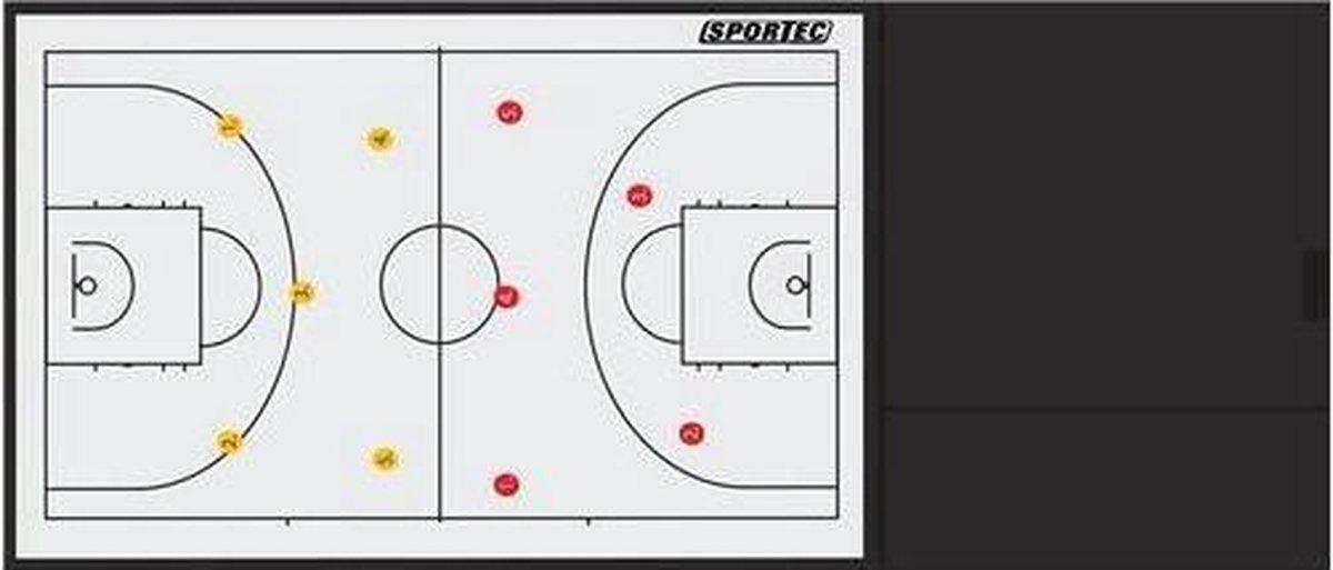 Sportec De Luxe Coachmap Basketbal