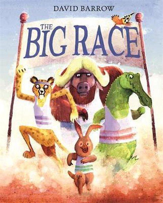 Boek cover The Big Race van David Barrow (Hardcover)