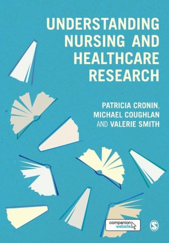 Boek cover Understanding Nursing and Healthcare Research van Patricia Cronin (Paperback)