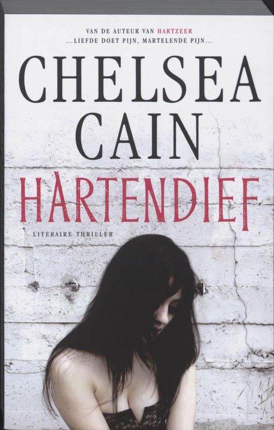 Cover van het boek 'Hartendief' van C. Cain