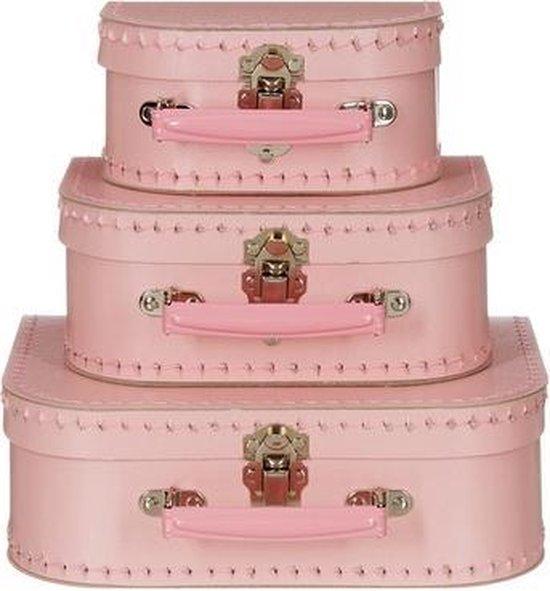 Bol Com Decoratie Koffertje Licht Roze 16 Cm
