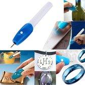 Graveerapparaat / Graveermachine - Elektrische Graveerpen - Metaal / Glas / Hout / Plastic