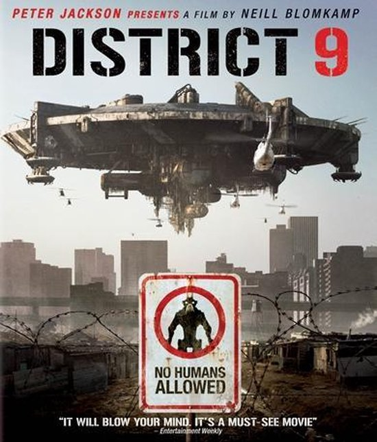 Cover van de film 'District 9'