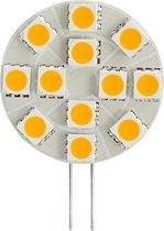 2 stuks - Led Lamp - G4 - 12V - 2.4W - rond - 6400K - Koud wit