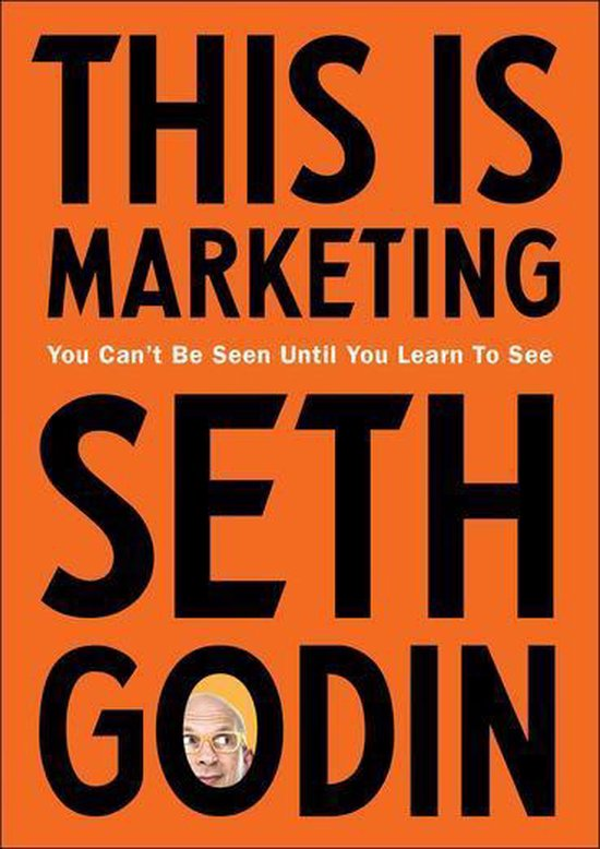 Boek cover This is Marketing van Seth Godin (Onbekend)