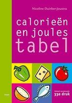Boek cover Calorieentabel / Joulestabel van N. Duinker-Joustra (Paperback)