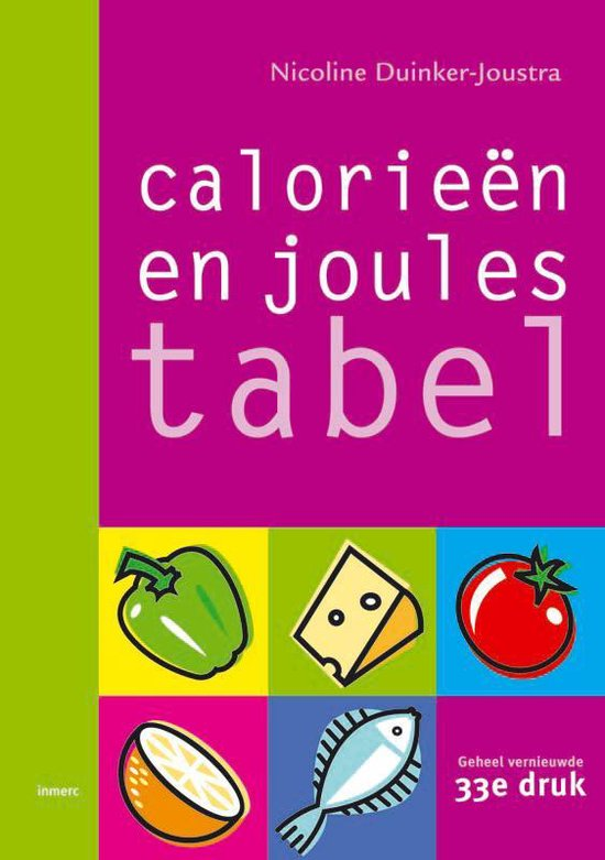 Calorieentabel / Joulestabel - Nicoline Duinker-Joustra pdf epub