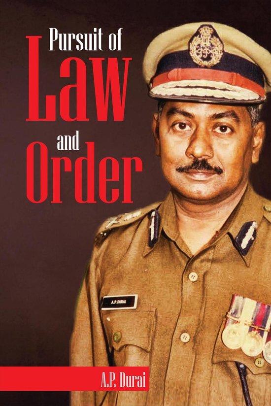 Boek cover Pursuit of Law and Order van A.P.  Durai (Onbekend)