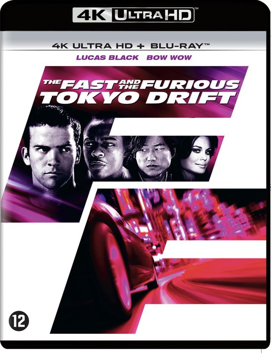 The Fast and the Furious: Tokyo Drift (4K Ultra HD Blu-ray)