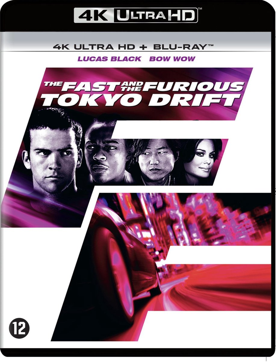 The Fast and the Furious: Tokyo Drift (4K Ultra HD Blu-ray)-